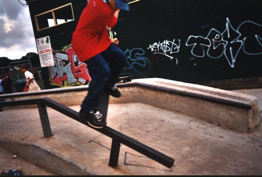 K-grind at Cowes